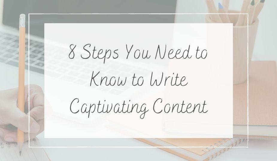 writing captivating blog content