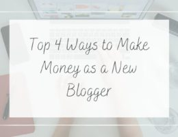 make money as a new blogger